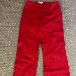 3/$30 Doncaster red pants 4P EUC